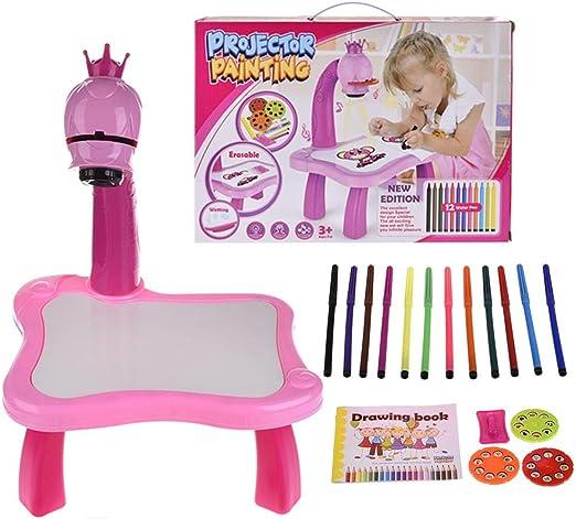 Chengstore - Juego de Pintura con proyector para niños ...