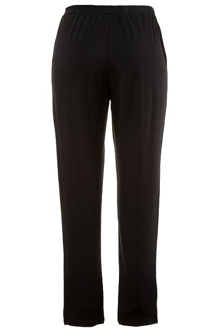 da0d06365bb6a Ulla Popken Women s Plus Size Easy Care Elastic Waist Slim Pants 709798 at  Amazon Women s Clothing store