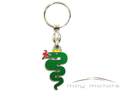 ALFA ROMEO llavero serpiente verde: Amazon.es: Coche y moto