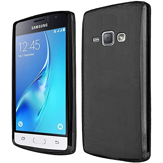 huge selection of 90a3c ce59a Phone Case for Straight Talk Samsung Galaxy-J1-Luna / Galaxy-Express-3  GoPhone (AT&T) / Galaxy Amp 2 4g LTE ( Cricket Wireless ) Cover Silicone  Black ...