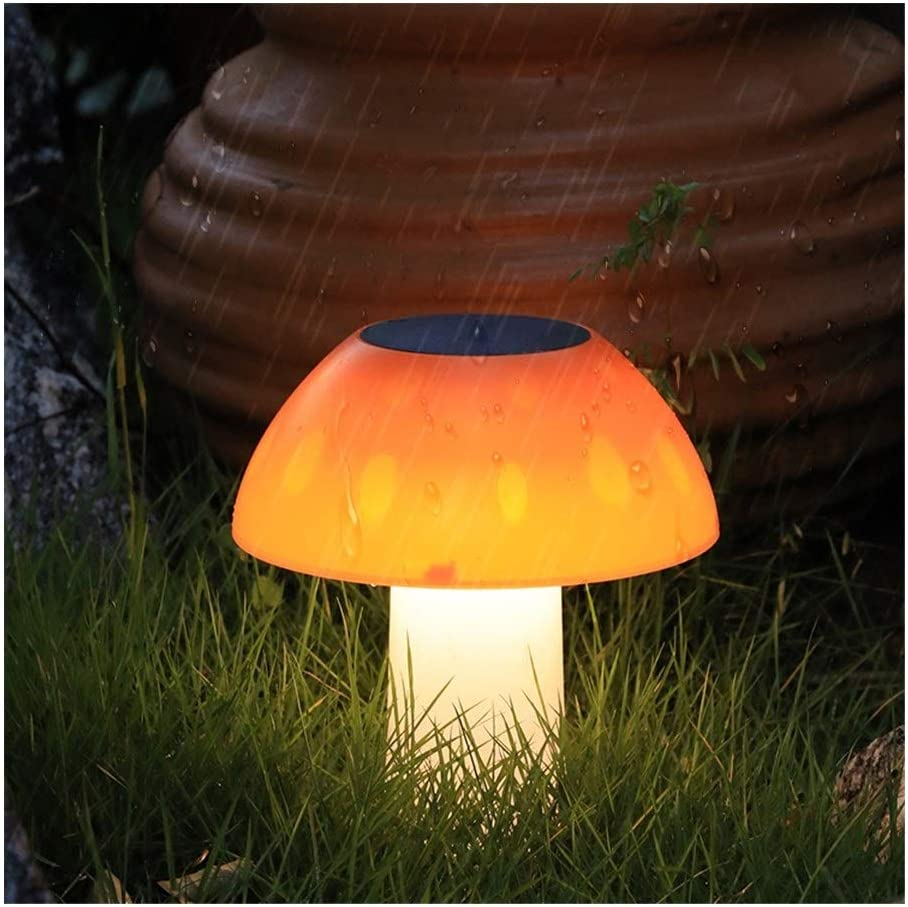 Mushroom Stake Light LED Garden Solar Lights Waterproof Outdoor Lawn Lamp Decorations for Garden Patio Backyard Pathway Garden Decor