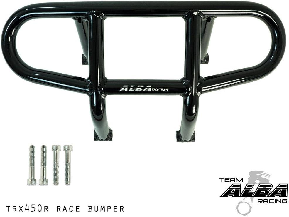 Honda ATV TRX 400EX y TRX 450R (todos los años) Race Parachoques Delantero R1 – Negro