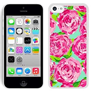 Lovely Lilly Pulitzer 12 iPhone 5c 5th Generation White Cell Phone Case hjbrhga1544