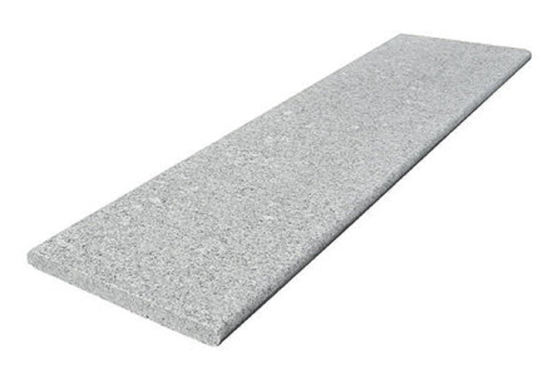 grau Eckteil 018110 Granit Beckenrandstein 43 x 43 x 3 cm Steinbach Massivpool-Einzelkomponente