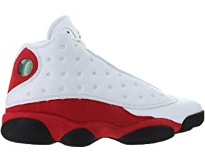 d224d03ed99ec1 Nike Air Jordan 13 Retro Chicago Mens White Team Red Black 414571-122
