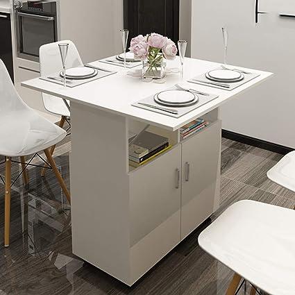 Tavolo Da Cucina Pieghevole Con Ruote.Tavolo Pieghevole Personalizzato Per La Casa Con Mobile Con Tavolo