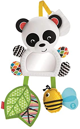 Fisher-Price Panda activity de paseo, juguete colgante para bebé ...