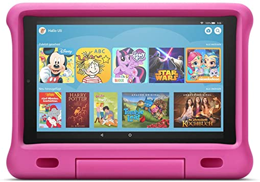 Kindgerechte Hülle Für Fire Hd 10 Tablet Kompatibel Mit Tablets Der 9 Generation 2019 Pink Amazon Devices