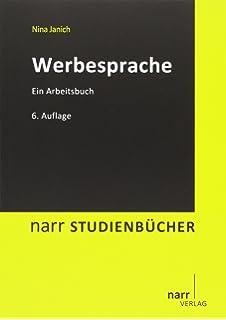 Werbesprache: Eine Einführung (Narr Studienbücher)