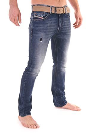 297b269b Brand New Diesel Thavar 885W Mens Jeans, 0885W, DNA Time Exposure  Collection, Slim Fit Tapered Leg (30 x 32): Amazon.co.uk: Clothing