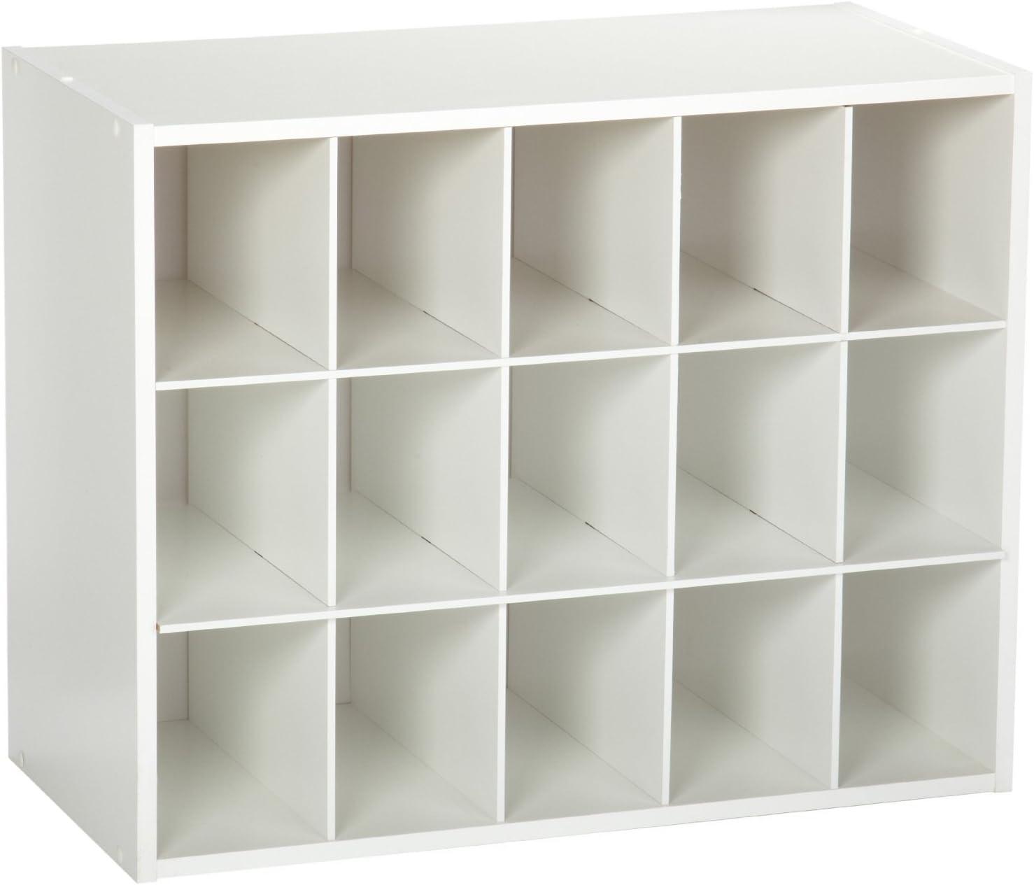 Closetmaid 8983 Stackable 15 Unit Organizer White Home Kitchen
