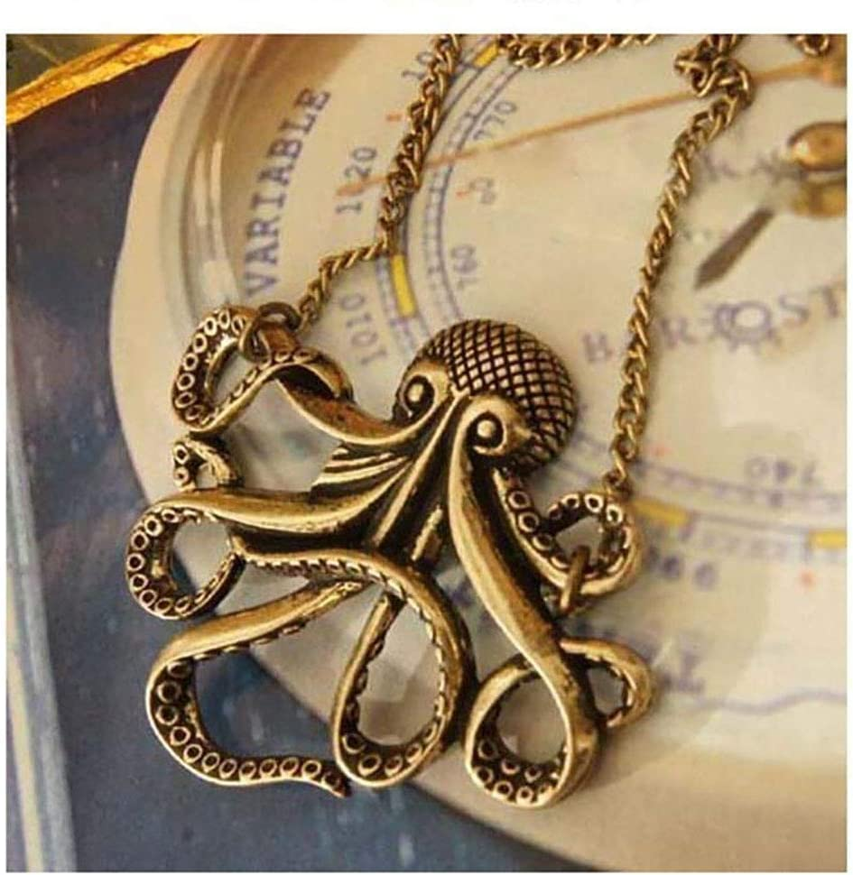 Collar Piratas del Caribe Pulpo Colgante Pirates Of Caribbean Necklace Octopus