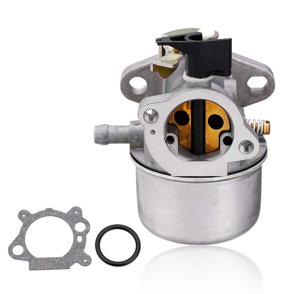 MYAMIA Carburatore in Metallo con Anello in Gomma per Briggs E Stratton Quantum Motor #498965