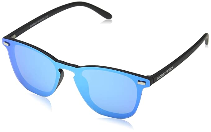 NORTHWEEK Wall Phantom Deck Gafas de Sol, Ice Blue, 136 Unisex