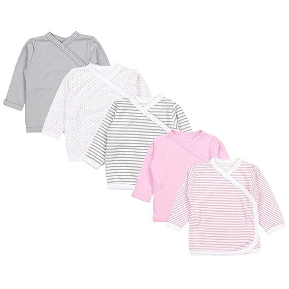 TupTam Camiseta Manga Larga para Bebé, Pack de 5: Amazon.es: Ropa ...