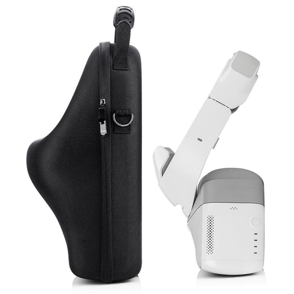 Tineer Portable Messenger Bags PU Travel Handbag Shoulder Bag Case Suitcase for DJI VR Goggles FPV Box Accessories