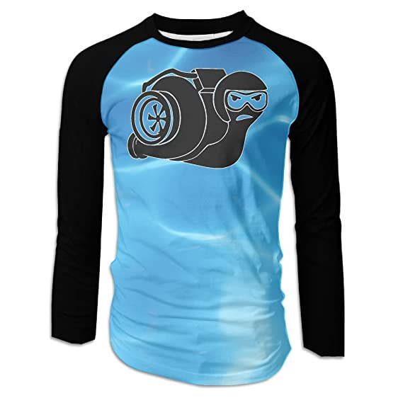 FirstStoreofyou Turbo Boost Snail Man Tshirts Leisure Outerwear With Long Sleeves
