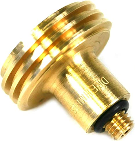 Dish sur ACME GPL adaptateur universel//tankadapter//Laiton//