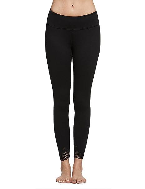 Amazon.com: titika Mujer Yoga pantalones fitness Cintura ...