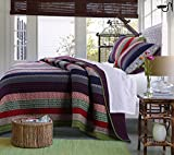 Greenland Home 3 Piece Marley Quilt Set, King