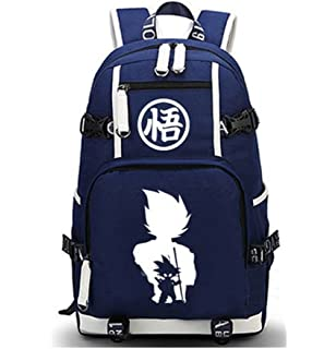 Siawasey Dragon Ball Z Anime Goku Cosplay Luminous Backpack Daypack Bookbag Laptop Bag School Bag