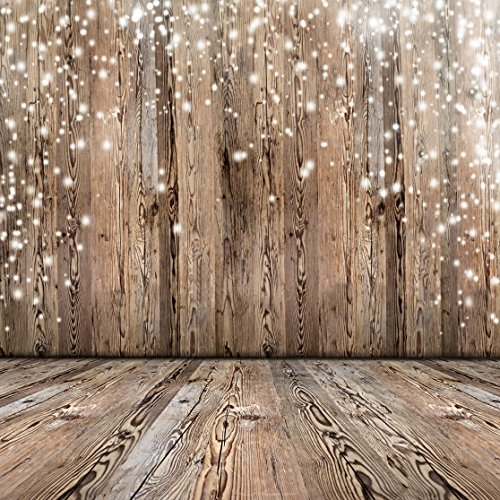 8x8ft Vinyl Photography Background Nostalgia Wood Floor Pattern Photography Backdrop Studio Props Ideal for Newborn,Children, and Product Photography