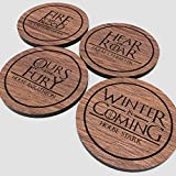 Game of Thrones - Red Oak Vynil Drink Coaster set of 4