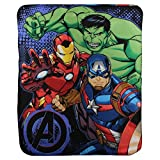 Avengers ''Defenders'' Kids Character lightweight Fleece Throw Blanket