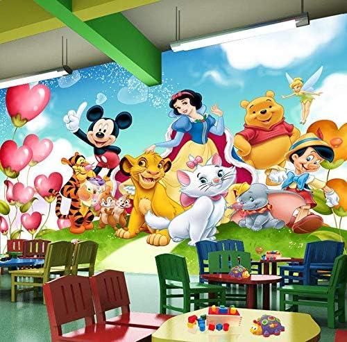 AQSGH Los niños de la familia de Disney 3d papel tapiz creativo de ...