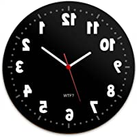 Relógio de Parede Geek Anti horário.