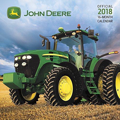 John Deere 2018 Wall Calendar cover