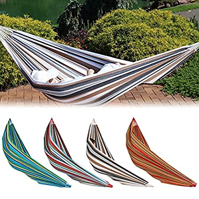 Sunnydaze Jumbo Brazilian Double Hammock, Extra Long, Large 2 Person, Portable Hammock Bed for Camping, Indoor or Outdoor Use, with Carrying Pouch, Max Weight: 400 Pounds, Multiple Options