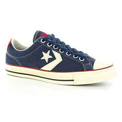 Mens Converse Star Player Ox Trainers Navy: Amazon.co.uk