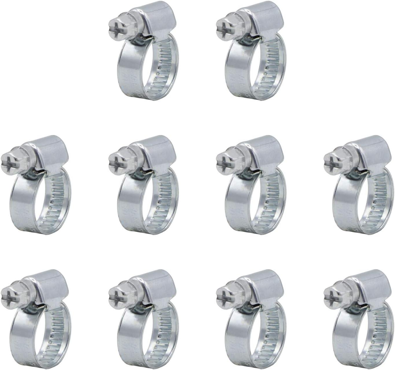 Variosan Schlauchschellen Set 11060 10 Stück Spannbereich 8 16 Mm Bandbreite 9 Mm W1 Baumarkt