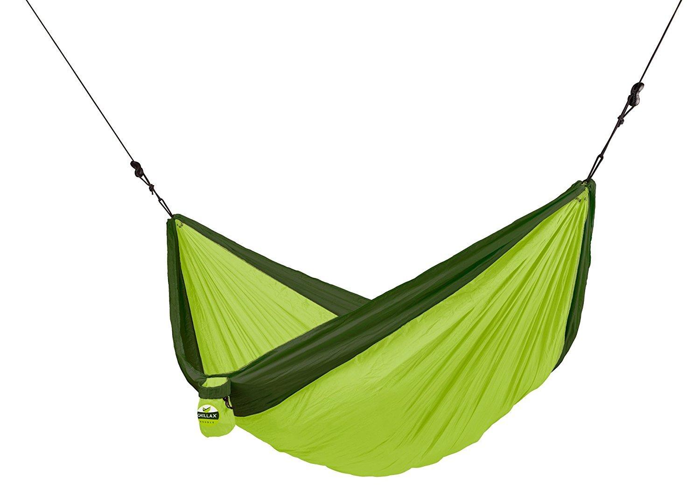 CHILLAX Double Travel Hammock green with Integrated Suspension [並行輸入品] B077QGXGPB