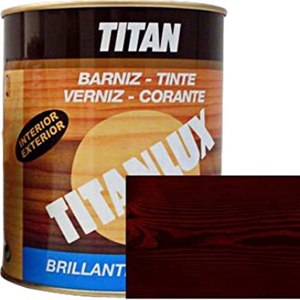 Titan - Tinte Madera 037 500Ml Caoba 1004