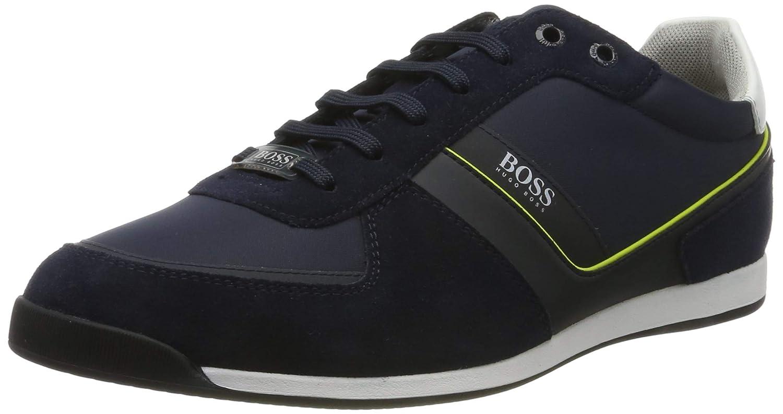 Blå (mörkblå 401) BOSS Män's Glaze Glaze Glaze u lowp u nysd Low -Top skor  begränsad utgåva