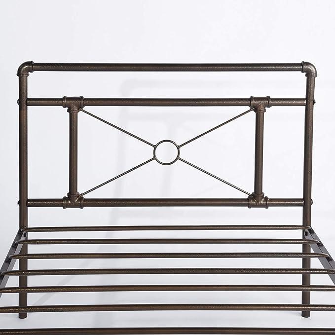 Aingoo Estructuras de Cama de Metal Cama Individual ...