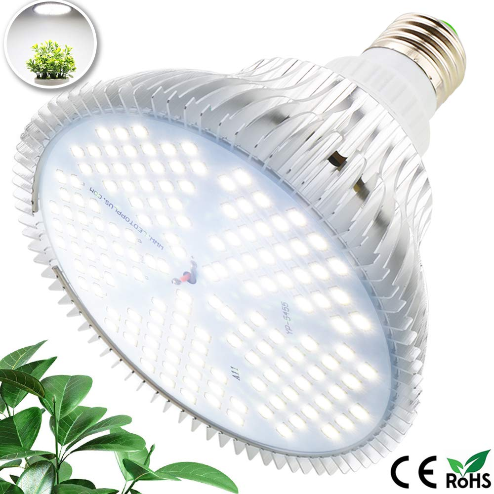 Aquarium Garden MILYN LED Grow Light Bulb 150W LEDs Daylight Full Spectrum Plant Growth Lamp Plant Light Bulb Greenhouse /& Hydroponic Growing E27 Grow Lights for Indoor Plants Vegetables