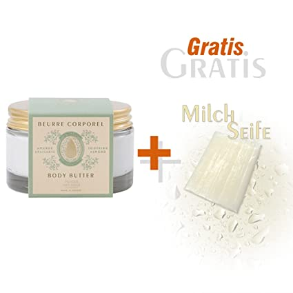 empanar des sens Crema Corporal almendra 200 ml y gratis Leche Jabón 25 g