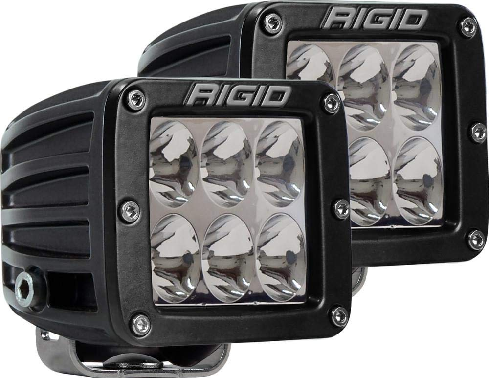 Surface Mount//Specter Driving//Pair Rigid Industries D-Series Pro Light