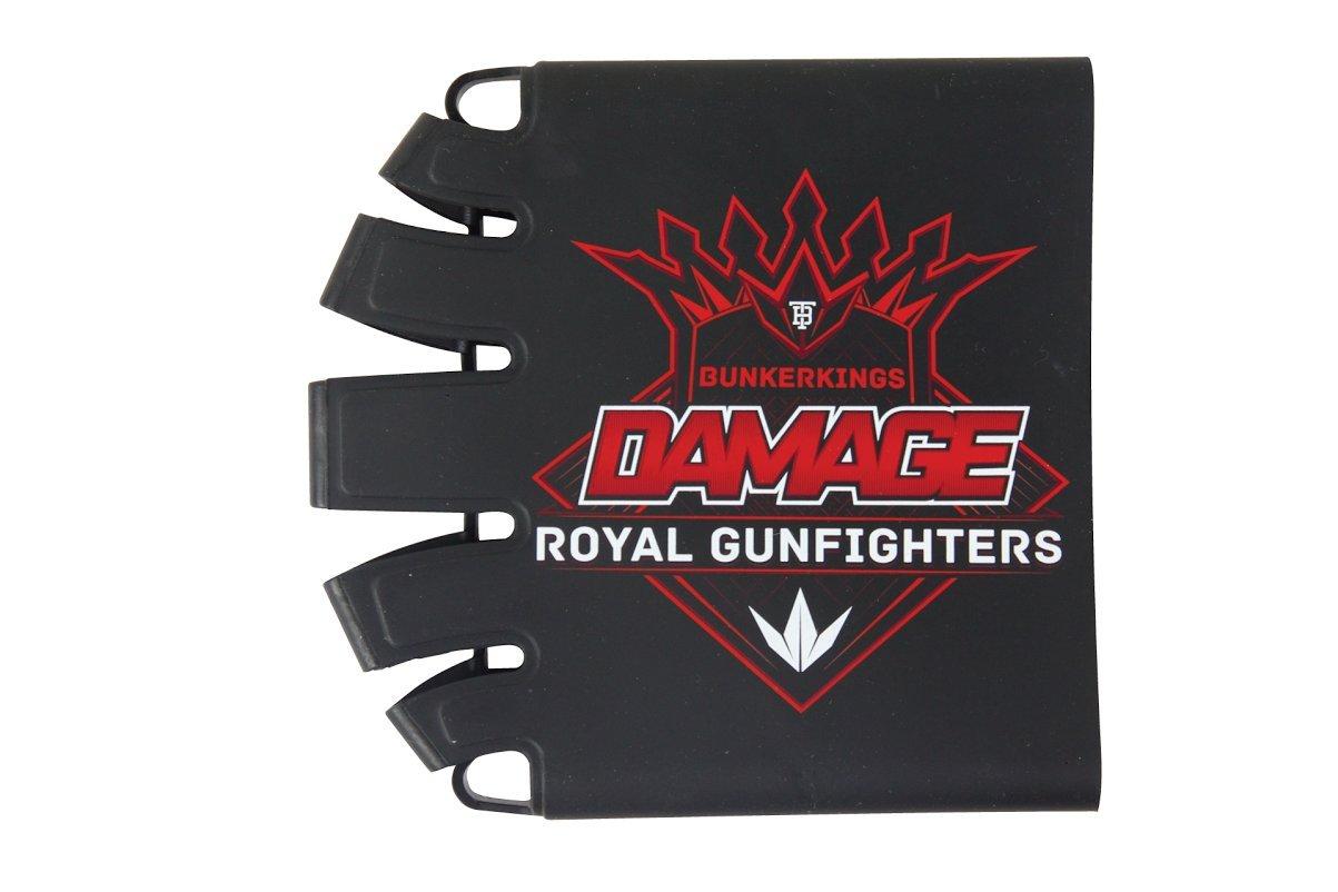 Bunker Kings Knuckle Butt Supreme Carbon Fiber Tank Cover Grip - Damage by Bnkr Kings