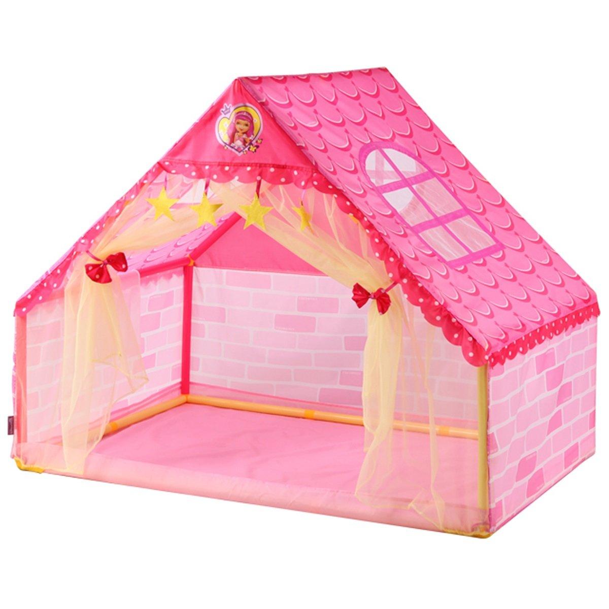 DD子供再生テントDIYゲーム部屋プラスチックおもちゃ部屋インドアBigスペースベビーギフト(ピンク10613390.5 CMのパックの1 ) B07DNC9NSW