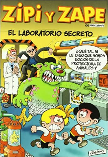 Book's Cover of LABORATORIO SECRETO, EL (MAGOS HUMOR ZIPI ZAP) (Español) Tapa dura – 16 agosto 2001