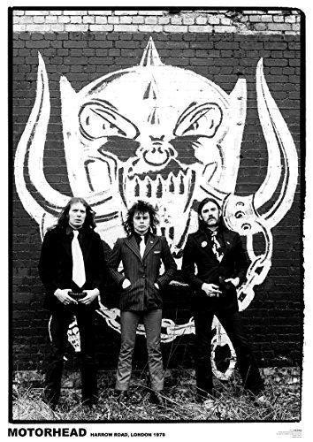 Close Up Motörhead Poster Harrow Road, London 1979