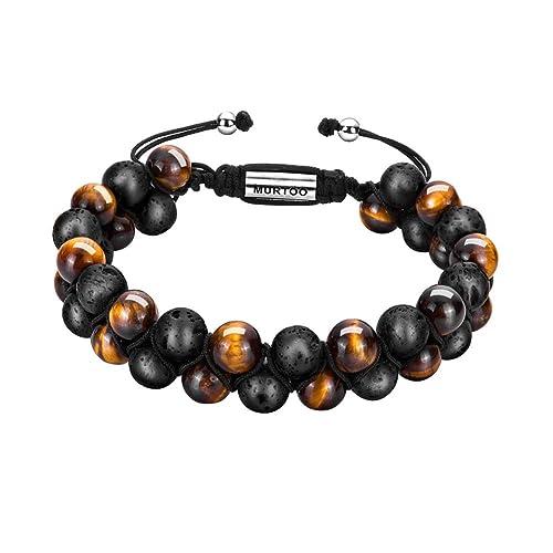 Bracelets Made Of Natural Stones Amazon Com