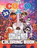 COCO Coloring Book: Great 32 Illustrations for Kids and Adults