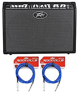 peavey special chorus 212 2 channel 100 watt 2x12 guitar amp combo 2 ts cables. Black Bedroom Furniture Sets. Home Design Ideas