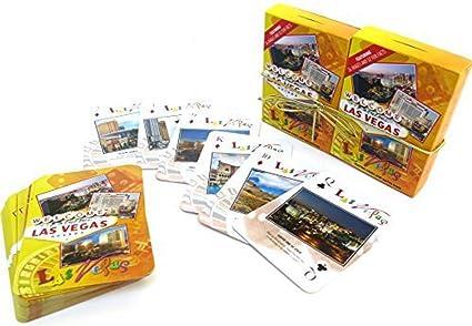 Amazon.com: Las Vegas recuerdo jugando A las cartas, juego ...