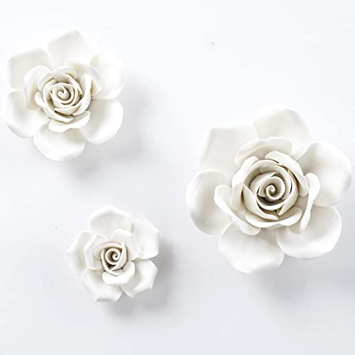 BINGNENG Ceramic Wall Flower